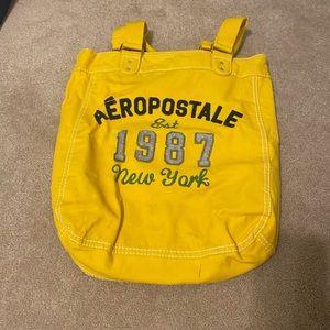 Yellow Aeropostale Open Tote